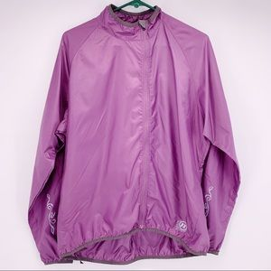 Novara Purple Cycling Jacket Size XL
